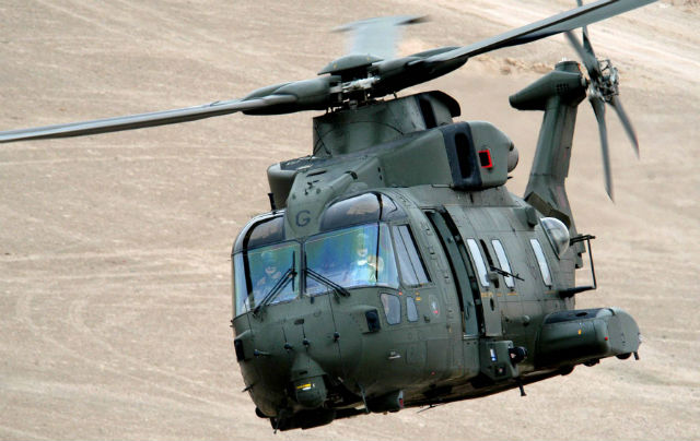 RAF Merlin HC3 - AgustaWestland