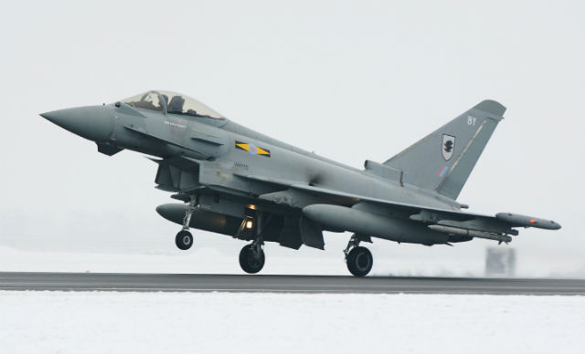 RAF Typhoon - Crown Copyright