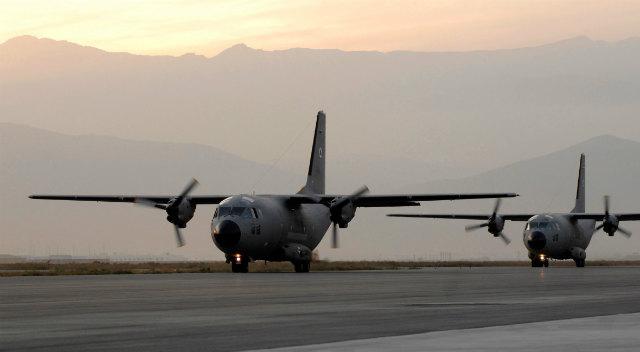 Afghan C-27As - Alenia Aermacchi