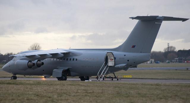 BAe-146 RAF