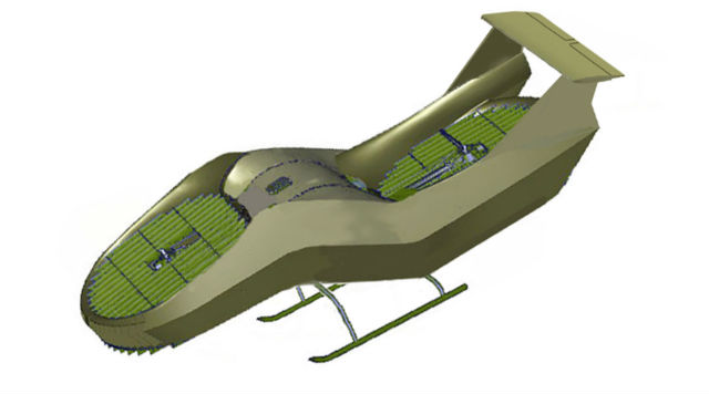 High-speed AirMule fast - Urban Aeronautics