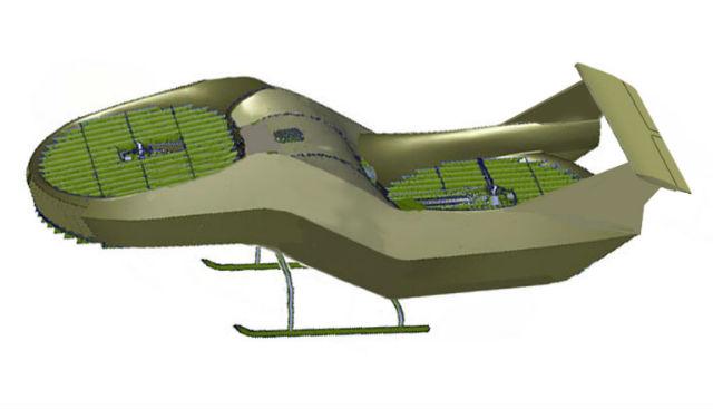 High-speed AirMule hover - Urban Aeronautics