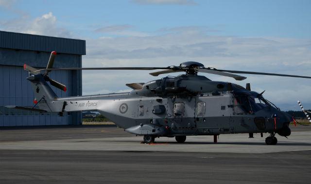 New Zealand NH90 - Peter Clark