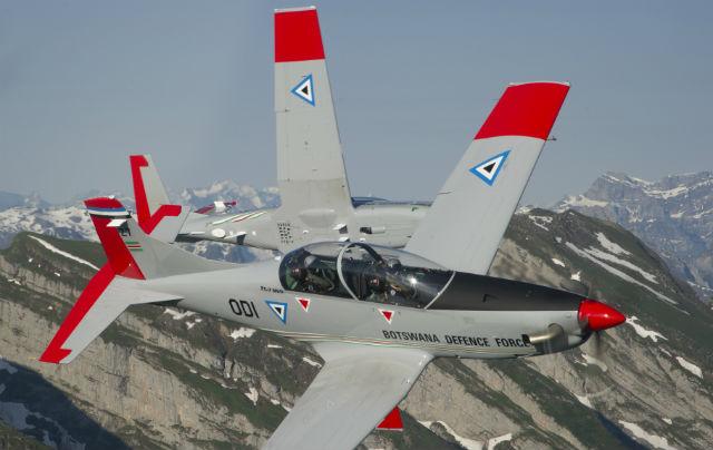 PC-7 MkIIs Botswana - Pilatus