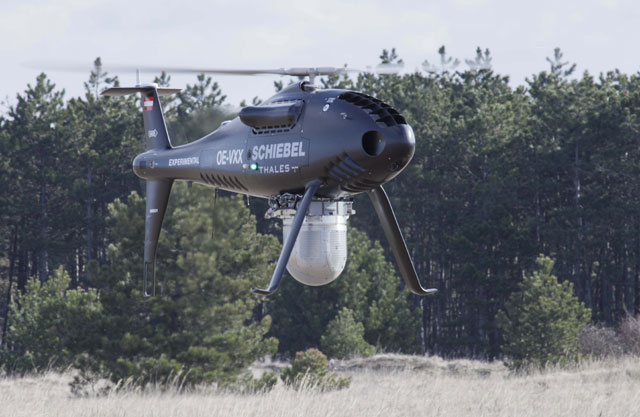 Schiebel Camcopter UAV
