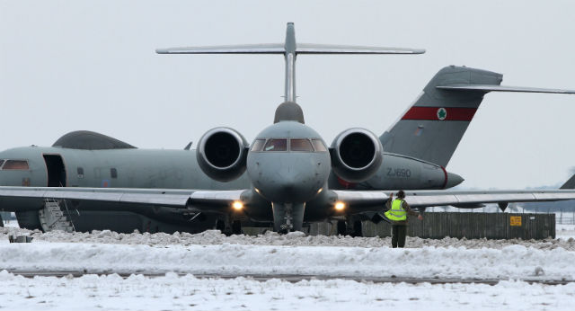 Sentinel R1 pair - Crown Copyright