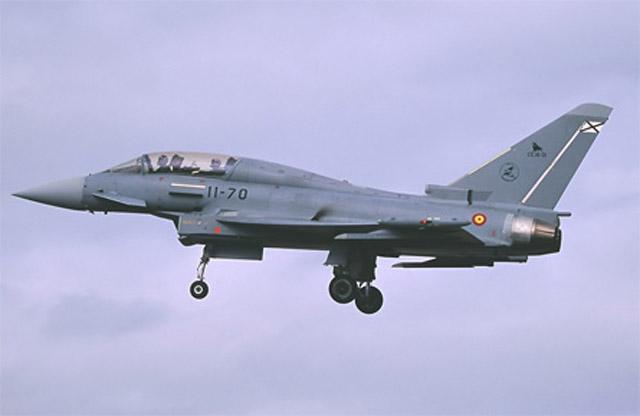 Spanish Eurofighter Typhoon