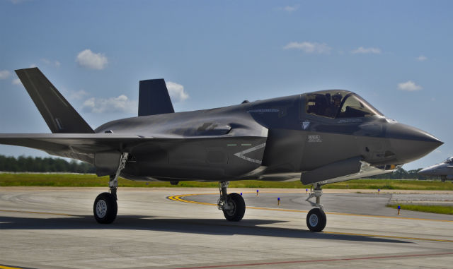 UK F-35B Eglin - USAF
