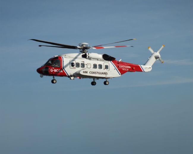 Bristow coastguard S-92