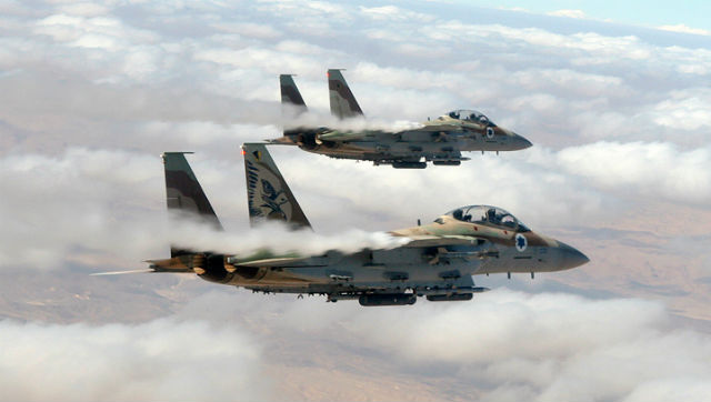 F-15I pair - Israeli air force