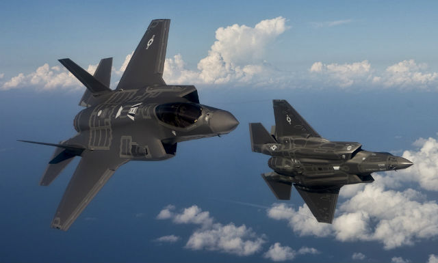 F-35A pair - USAF
