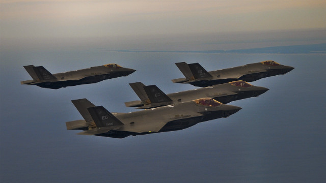 F-35A quad - US Air Force