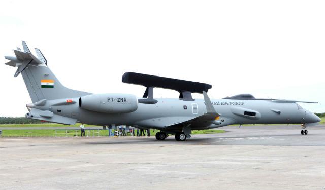 India EMB-145 AEW - Embraer