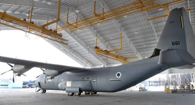 Israel C-130J aft - Lockheed Martin