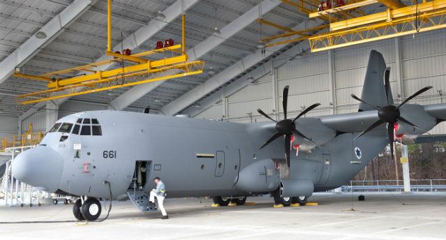 Israel C-130J - Lockheed Martin