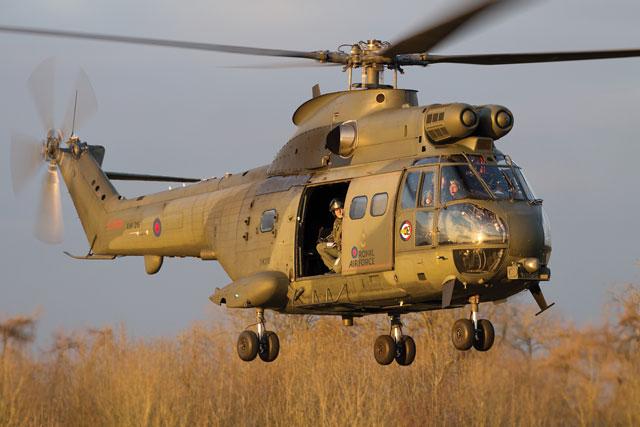 RAF Puma HC2