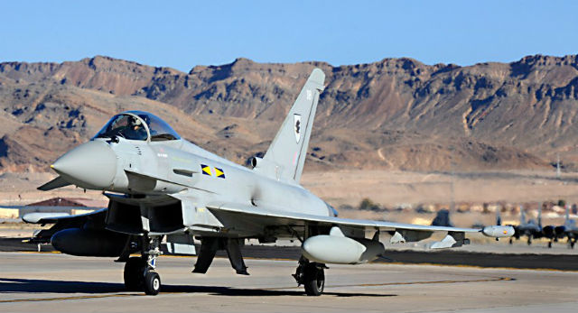 RAF Typhoon Nellis - Crown Copyright