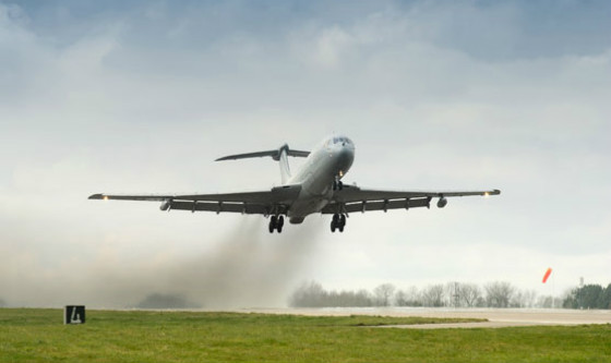 RAF VC10 - Crown Copyright