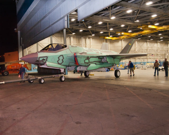 Second RNLAF F-35A