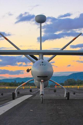 Brazilian air force Hermes 450 UAV