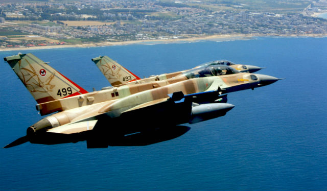 F-16I pair - Israeli air force