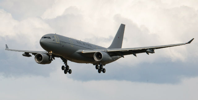 RAF Voyager 4 - Crown Copyright
