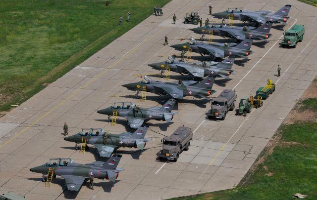 Serbian jets - Igor Salinger