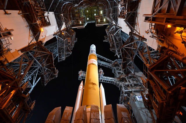 United Launch Alliance Delta IV launch pad