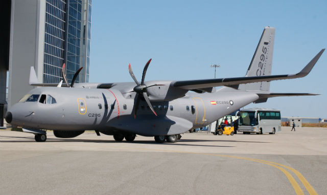 C295W demonstrator - Craig Hoyle Flightglobal
