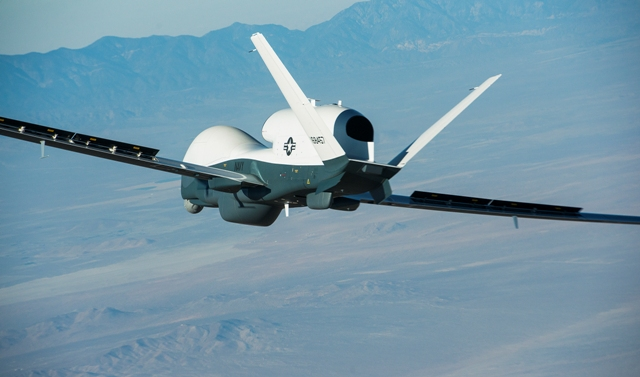 MQ-4 Triton flight