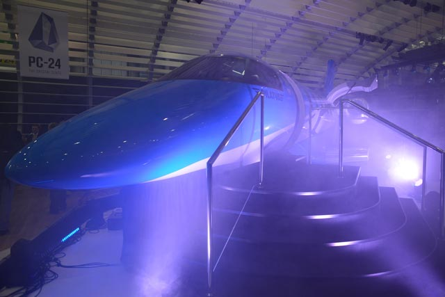 Pilatus PC-24 unveil