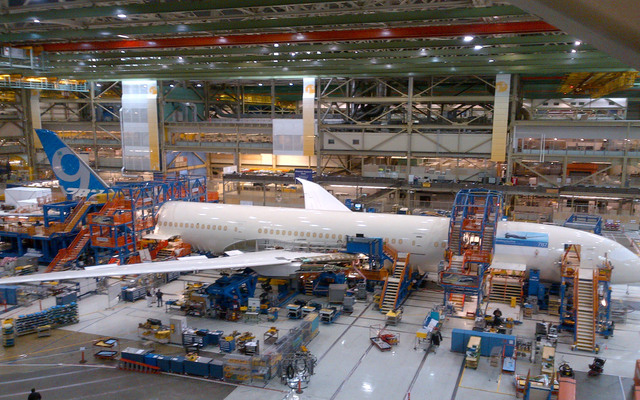 787-9 at final body joint