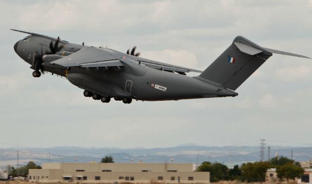 A400M MSN8 debut - Airbus Military