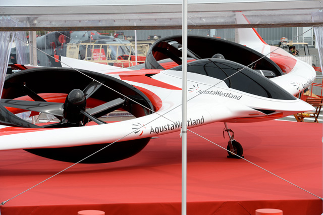 AgustaWestland Project Zero tiltrotor