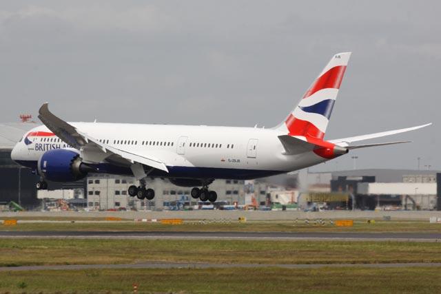BA 787 LHR