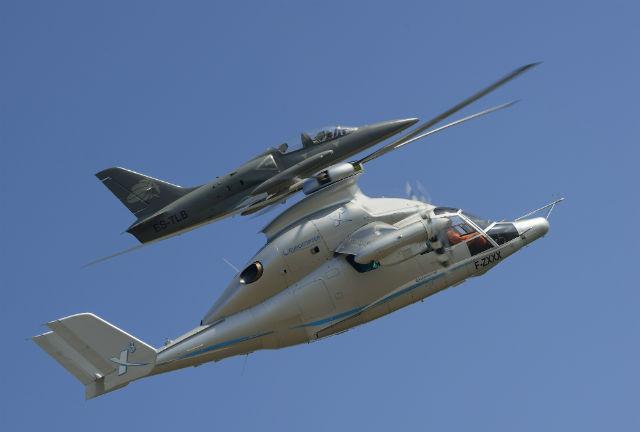 Eurocopter X3 plus jet