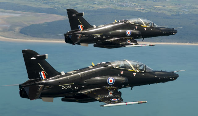 Hawk T2 pair - Crown Copyright