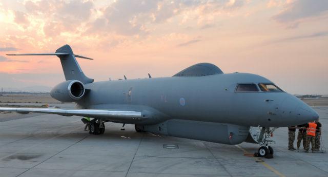 RAF Sentinel - Crown Copyright
