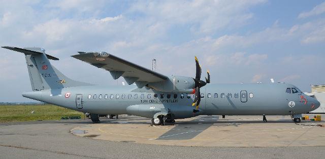 ATR 72 utility Turk navy - Alenia Aermacchi