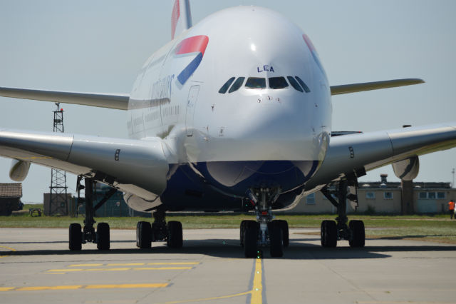 BA A380 Manston