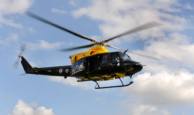 Bell 412 Griffin - Crown Copyright