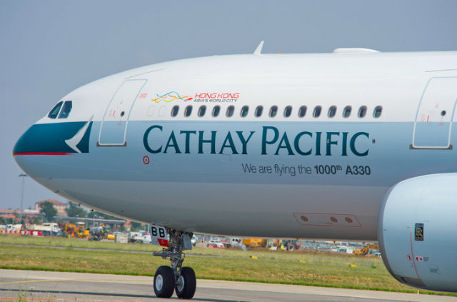 Cathay A330 1