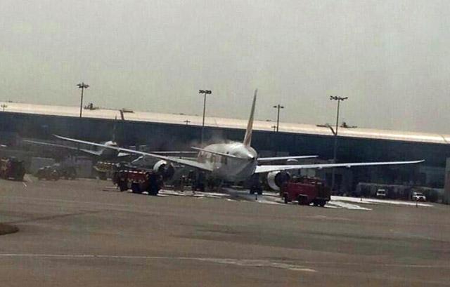 Ethiopian 787 fire Heathrow