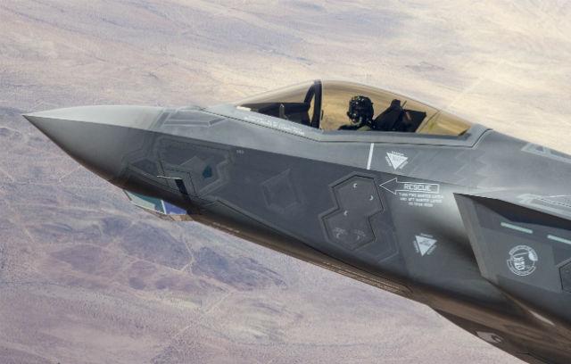 F-35A detail - Lockheed Martin
