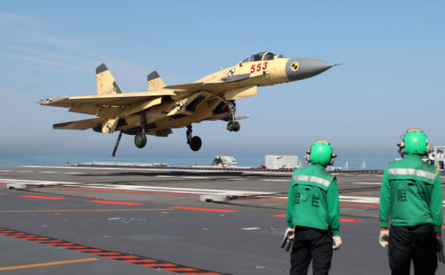 J-15 Liaoning - Rex Features