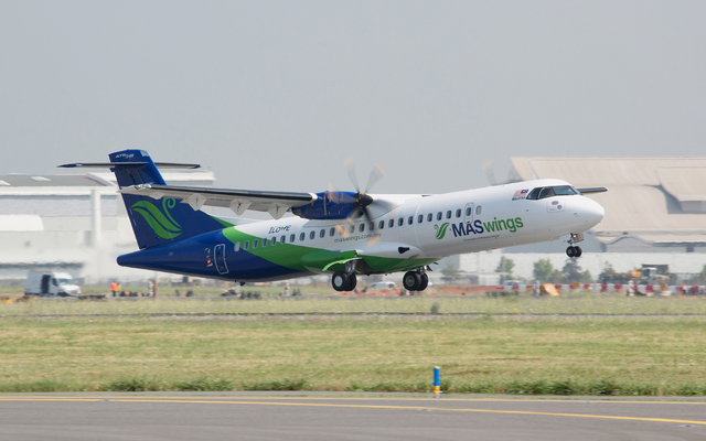 MASwings first ATR 72-600