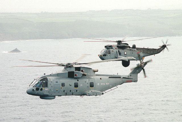 Merlin Sea King ASaC