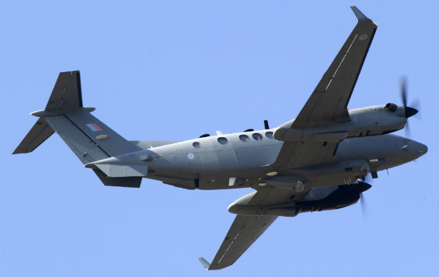 RAF Shadow R1 - Sunshine Band AirSpace