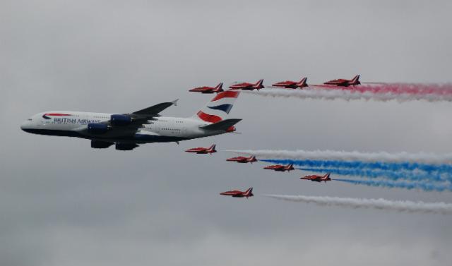Red Arrows BA A380 - Craig Hoyle