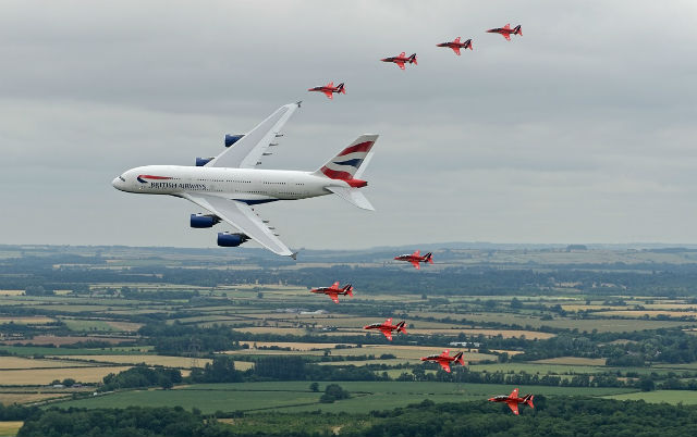 Reds BA A380 - RIAT